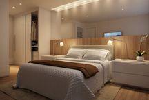 Interiores: dormitório casal