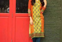 kalyan Embroidered Kurtis Collection