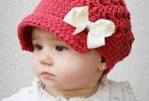 sombreros en crochet