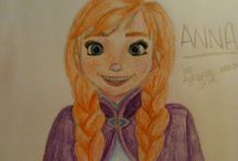 My drawings / some drawings of mine! mostly Disney although not all are!