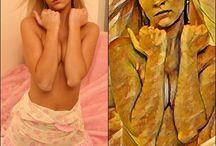 Sexy Teen pics als kunstvolle Bilder / Sexy Teen pics in kunstvolle Bilder malen lassen