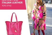 Marla Fiji - Justine Pink - Italian leather bag / We love her style the ever so eccentric Anna Della Russo  Editor  at  Large and  creative Consultant at Vogue Japan