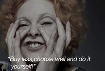 Inspiration / Inspirational quotes dal mondo del fashion