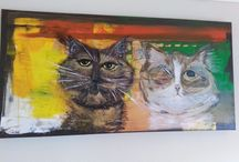 My Art / My Art! You can order a painting of your Pet!