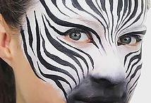 maľovaniena tvár