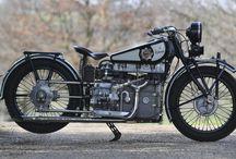 Old motorcycles - Motocicletas antiguas