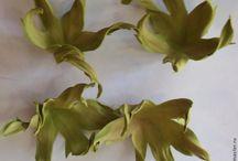 Цветы. Создаём из фоамирана