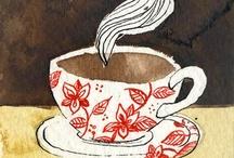 Dessins de thé