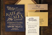wedding invites/save the dates