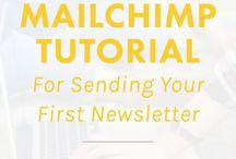 Email Marketing + Newsletters / email marketing, email tips, newsletter, mailchimp, convertkit, ems, marketing, inbox,