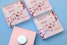 Wedding favours for guests