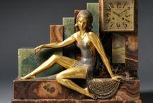 Art Deco clock / Clocks and clocksets