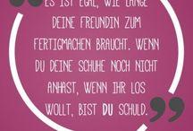 Quotes / Sprüche