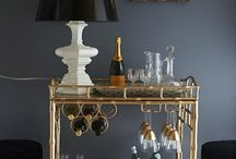Inspo: Bars and Bar Carts