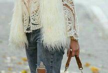 Fur Coats & Shaggy Cardigans... ❤