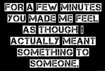 You made