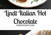 Chocolate quente e bebidas