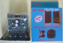 Rakitan Kit Aktif Speaker Stereo Gb 140w