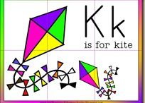 Kites Theme / Preschool, kindergarten, early elementary theme / unit curriculum, crafts, songs, finger plays, printables, games, math, science, ideas. See also Spring