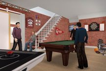 Man Cave Fever / To welcome in and celebrate Father's Day this year, we are featuring a few of our favorite Man Cave inspired creations from users.