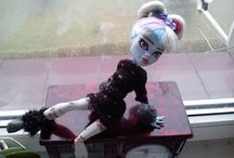 Monster High OOAK my doll / My first repaint