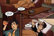 Percy Jackson comics