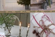 Christmas decorations and ideas.
