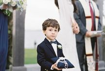 Ring Bearers / by Stoneblossom Floral and Event Design