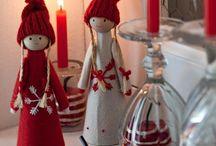 Natale / Babbo natale con legno