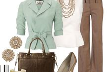 Professional Closet / Clothes for work and the office / by Aime O'Keefe