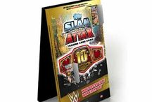 WWE Slam Attax 10 / Slam Attax is back with its 10th edition! This brand new series is the biggest Slam Attax collection ever and is bound to send WWE fans into a frenzy.