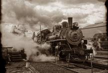 Loco-motion / Trains, trains, catch the rail / by Didymus International inc.