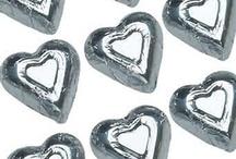 Edible Candy Metallics- Silver