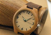 Bamboo Watches / Watches made from Bamboo - Combine style with nature.