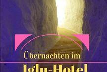 Außergewöhnliche Hotels / Ganz besondere Hotels, die ein unvergessliches Übernachtungserlebnis bieten.