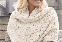 strikket sjaler
