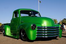 Classic, iconic pickups and cars