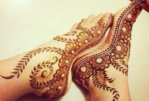 Mehndi / We provide mehndi services for the occasions like Teej, Karwachouth, Navratri, Mehndi functions of your marriage or your friend's marriage, Bridal mehndi or parties.
