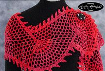 Shawls, Cowls, and Scarf Accessories / Small projects to knit and crochet to warm your neck in Mountain Meadow Wool yarns