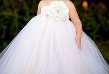 Adorable Flower Girl Ideas / Bridesmaid and flower girl dress, hair, accessory and flower ideas