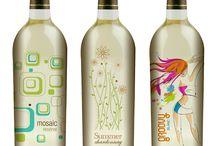 Creative wine labels