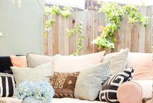 Palet exterior sofa