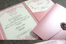 Pocketfold/Wallet Wedding Invitations | Leonie Gordon London