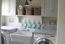 Dream Laundry Room / by Kristi @ Little Miss Scatter-Brain