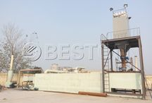 Waste Pyrolysis Plant / Beston waste pyrolysis plant is a kind of environmental project, which mainly utilizes the anaerobic heating technology to produce fuel oil, carbon black.