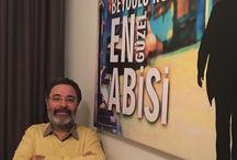 AHMET ÜMİT(Favori yazarım...) / Ahmet Ümit benim için en iyi yazardır.Bütün kitaplarını okumuş bulunmaktayım...