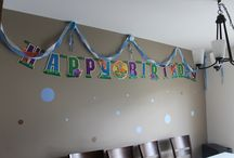 ABC's Birthday Party Idea / When you know your kid's, you can make surprise all the time. Thank's Zia Mary for your help...!