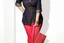 Plus size fashion / Plus size outfits