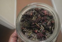 Growth Stimulating Hair Tea / Hair teas help to decrease shedding by closing the follicle, makes hair stronger and gives your hair shine and boosts color to hair
