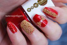 Bridal nail art